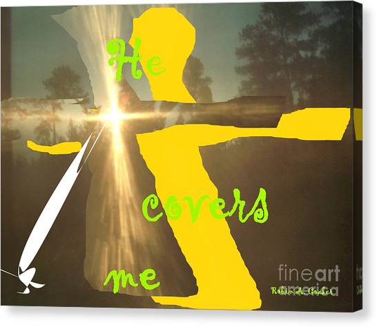 He Covers Me Lll Canvas Print