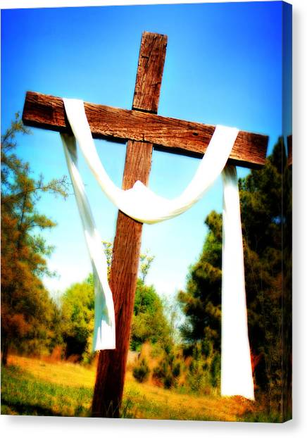 He Has Risen Canvas Print