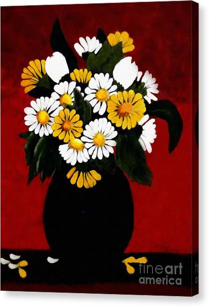 He Loves Me... Canvas Print