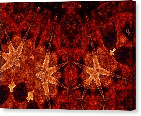 He Wears The Robe Of Stars Canvas Print