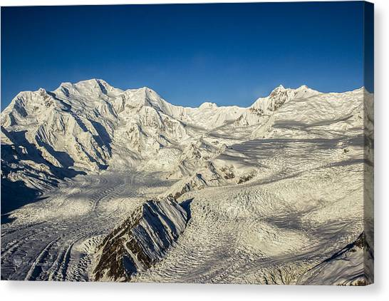 Head Of The Kennicott Glacier Canvas Print