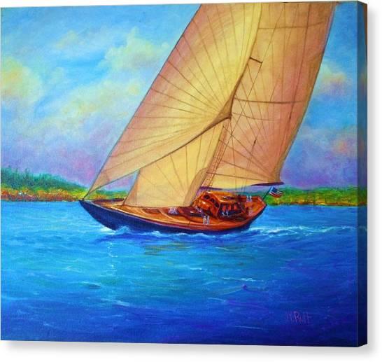 Heading Out Keehi Lagoon Canvas Print by Joseph   Ruff