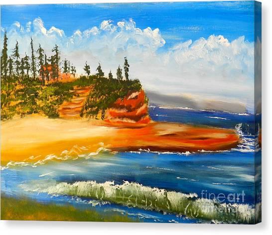 Headlands Canvas Print