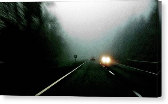 Headlights Canvas Print