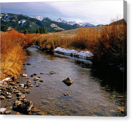 Headwaters Of The River Of No Return Canvas Print