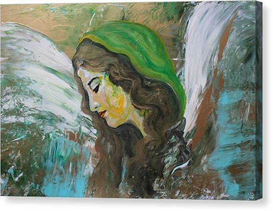 Healing Angel Canvas Print