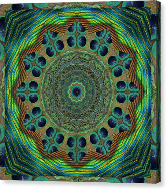Healing Mandala 19 Canvas Print