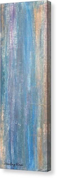 Healing Rain I Canvas Print