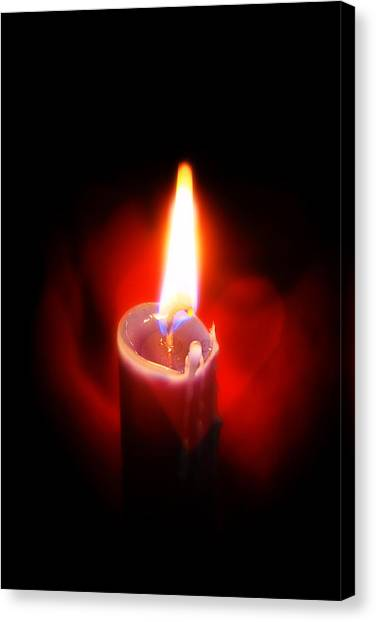 Heart Aflame Canvas Print