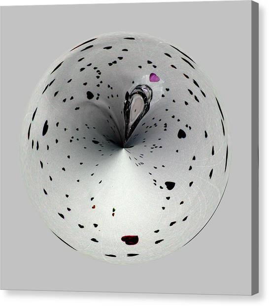 Heart Ball 2 Canvas Print
