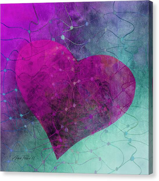 Heart Connections Two Canvas Print