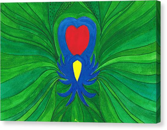 Heart Of Love.mexico Canvas Print