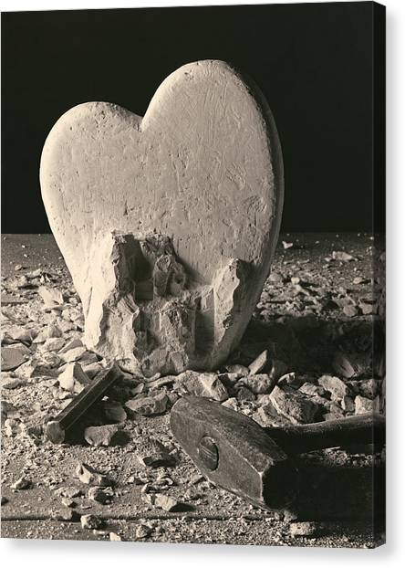 Heart Of Stone C1978 Canvas Print