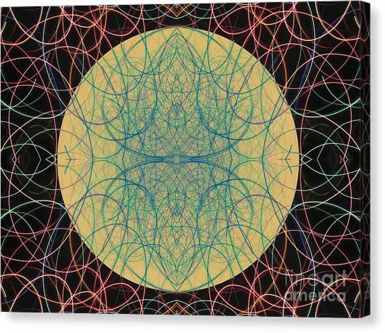 Heart Of The Sun 4 Canvas Print