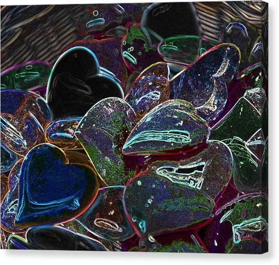 Heart Rocks Canvas Print