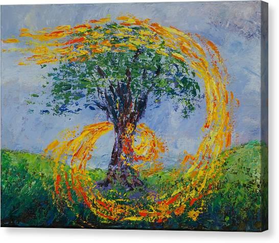 Heart Strings Canvas Print by William Killen