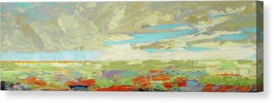 Canvas Print - Heartland Series/ Big Sky by Marilyn Hurst