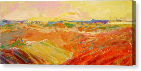 Heartland Series/ Prairies Canvas Print by Marilyn Hurst