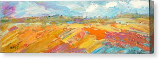 Canvas Print - Heartland Series/ Ranchlands by Marilyn Hurst