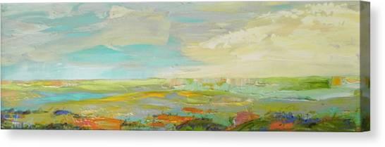 Heartland Series/ Springtime Canvas Print by Marilyn Hurst