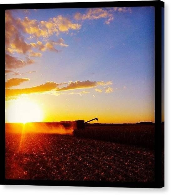 John Deere Canvas Print - #heartland  by Spencer Neuberger