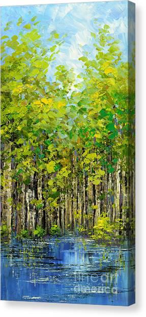 Heat Of Summer Canvas Print