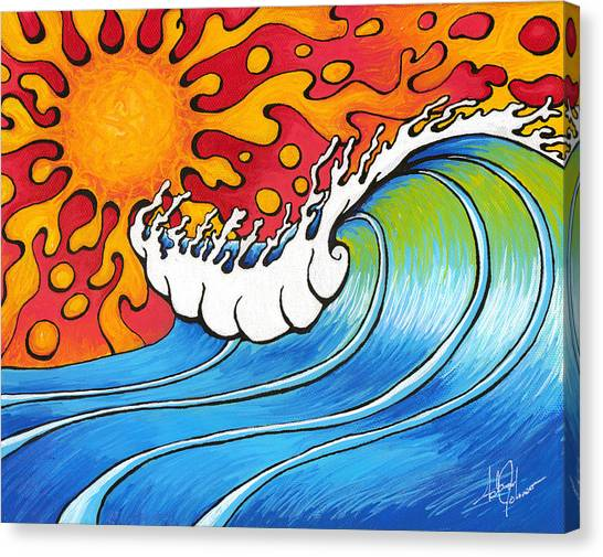 Heat Wave Canvas Print
