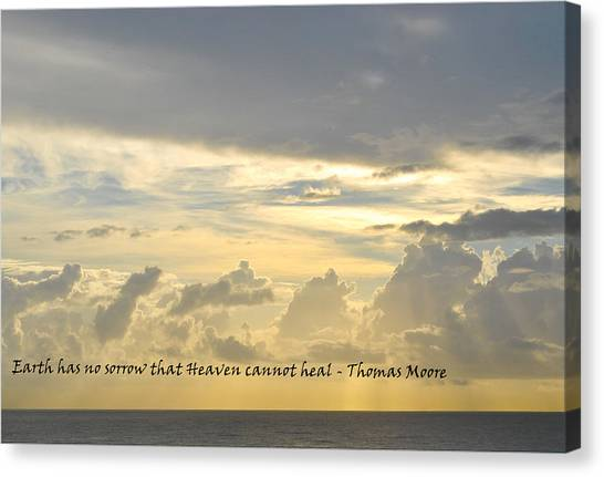 Heaven Canvas Print by BandC  Photography