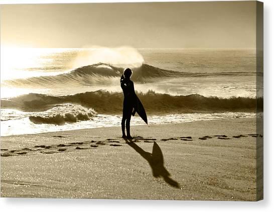 Beach Style Canvas Print - Heaven On A Stick - Vintage by Sean Davey