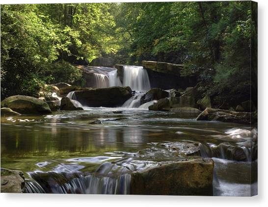 Heavenly Bliss On Decker Creek Canvas Print