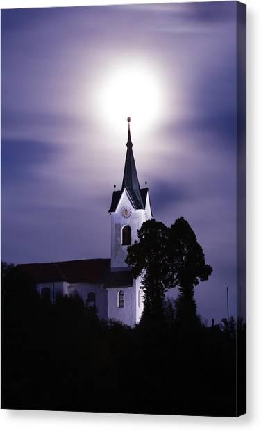 Heavenly Glow Canvas Print