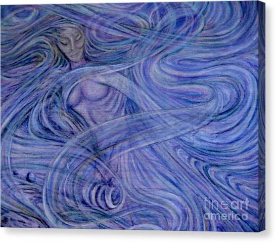 Heavenly Hostess IIl Canvas Print by Jacquelyn Roberts
