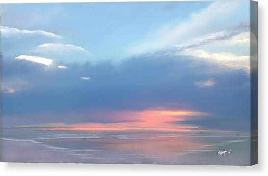 Heavenly Morning Canvas Print