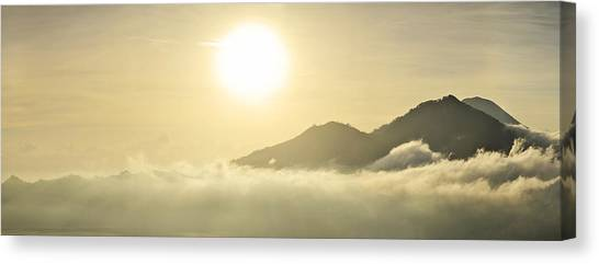 Heavenly Peaks Canvas Print