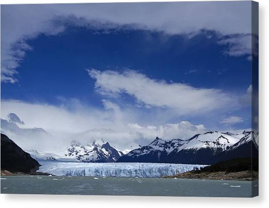 Perito Moreno Glacier Canvas Print - Heavenly Perito Moreno Glacier by Michele Burgess
