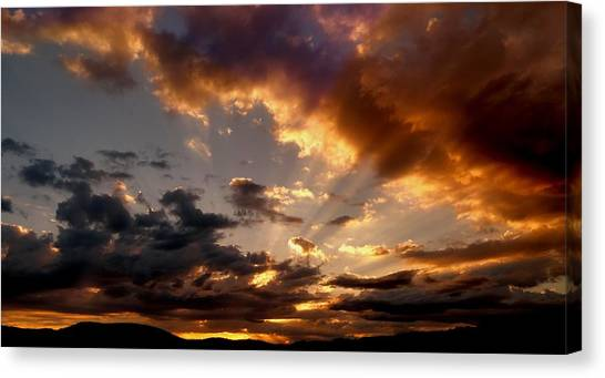 Heavenly Rapture Canvas Print