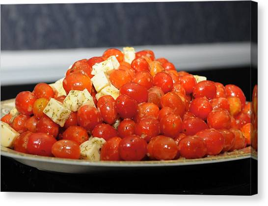 Heavenly Tomatoes Canvas Print
