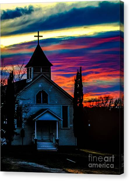 Heaven's Light Canvas Print