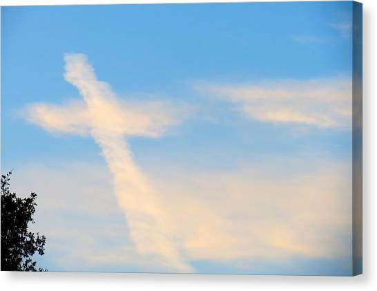 Heaven's Sign Canvas Print