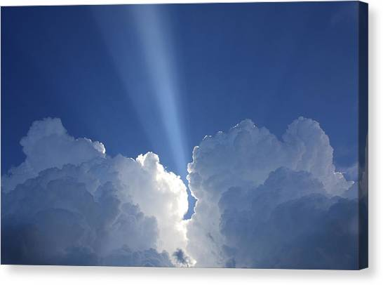 Heaven's Spotlight Canvas Print