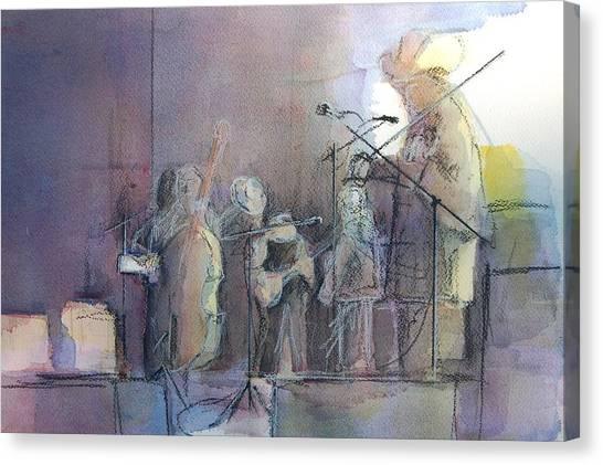 Bluegrass Canvas Print - Heavy Traffic Ahead by Robert Yonke