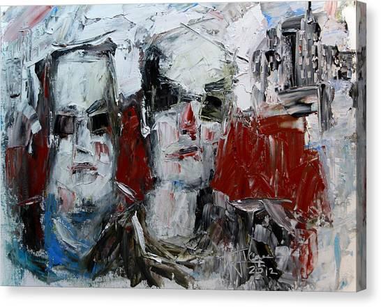 Heavys Canvas Print