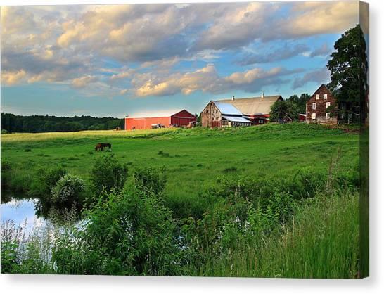 Hebron Farm Canvas Print