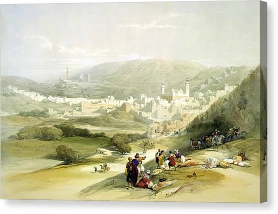 Hebron Canvas Print