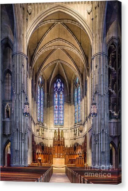 Heinz Chapel - Pittsburgh Pennsylvania Canvas Print