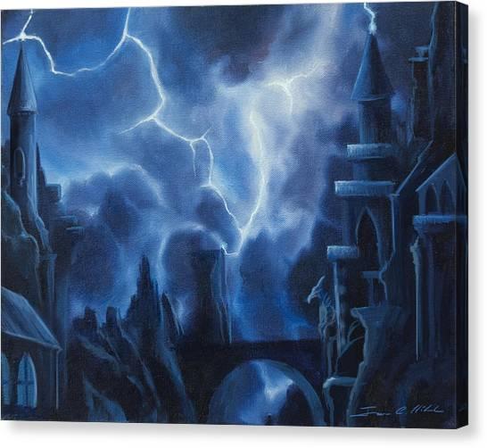 Heisenburg's Castle Canvas Print