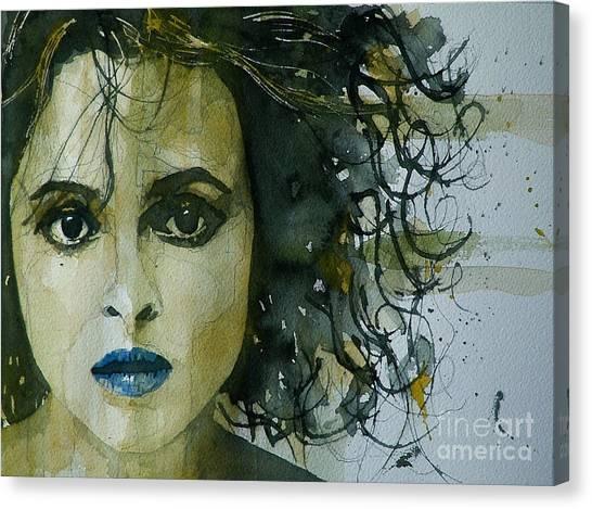 Cartera Canvas Print - Helena Bonham Carter by Paul Lovering