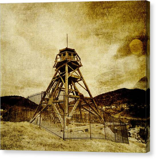 Helena-montana-fire Tower Canvas Print