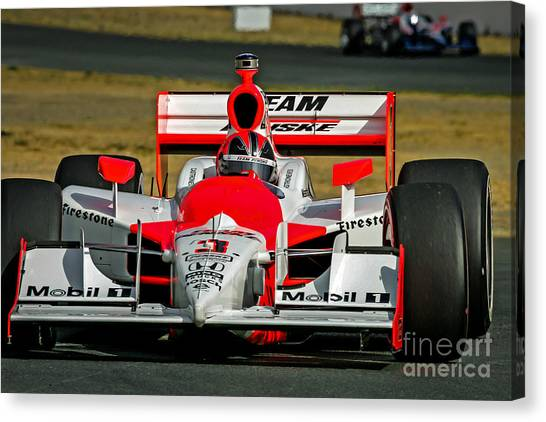Team Penske Canvas Print - Helio by Webb Canepa