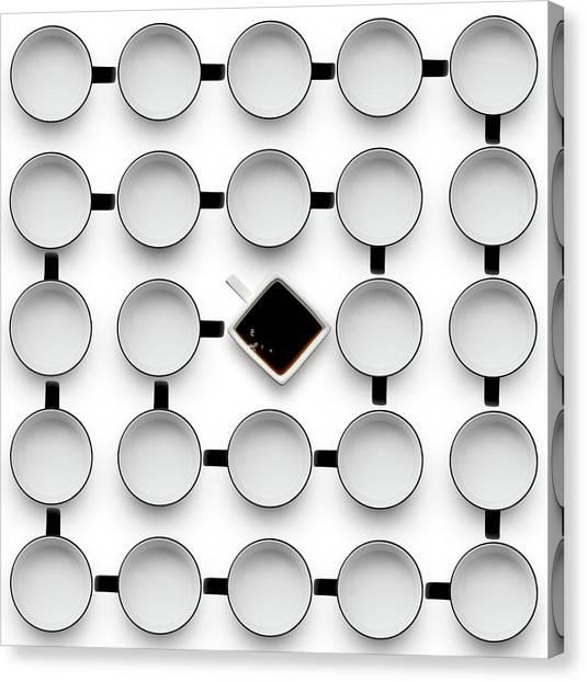 Milk Canvas Print - Helix 2 by Wieteke De Kogel
